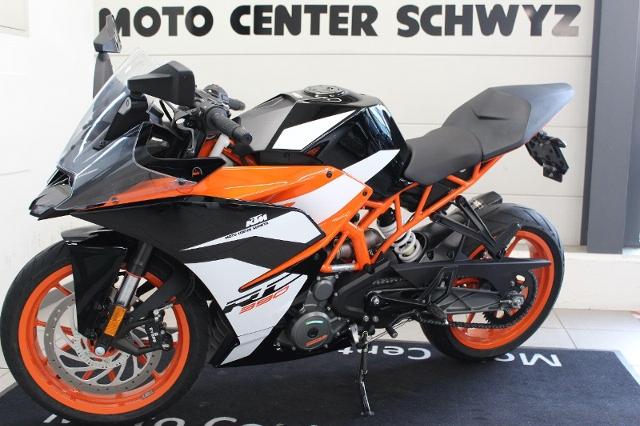 Motorrad kaufen KTM 390 RC Supersport ABS Vorführmodell