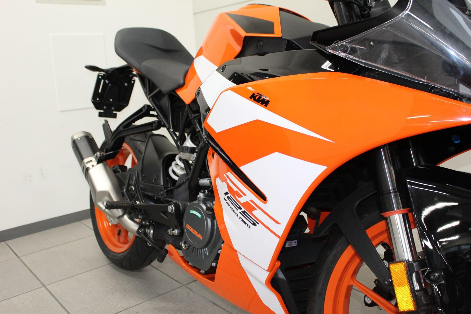 moto neuve acheter ktm 125 rc supersport moto center schwyz ag seewen schwyz. Black Bedroom Furniture Sets. Home Design Ideas