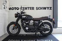 Töff kaufen TRIUMPH Bonneville T120 1200 Black Edition Retro