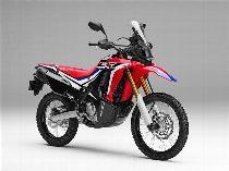 Motorrad Mieten & Roller Mieten HONDA CRF 250 Rally (Enduro)