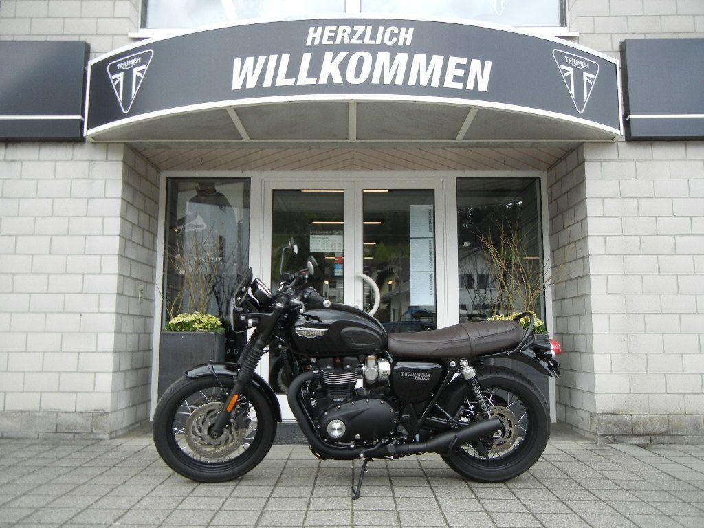 Buy Motorbike Pre Owned Triumph Bonneville T120 1200 Black Abs Iff