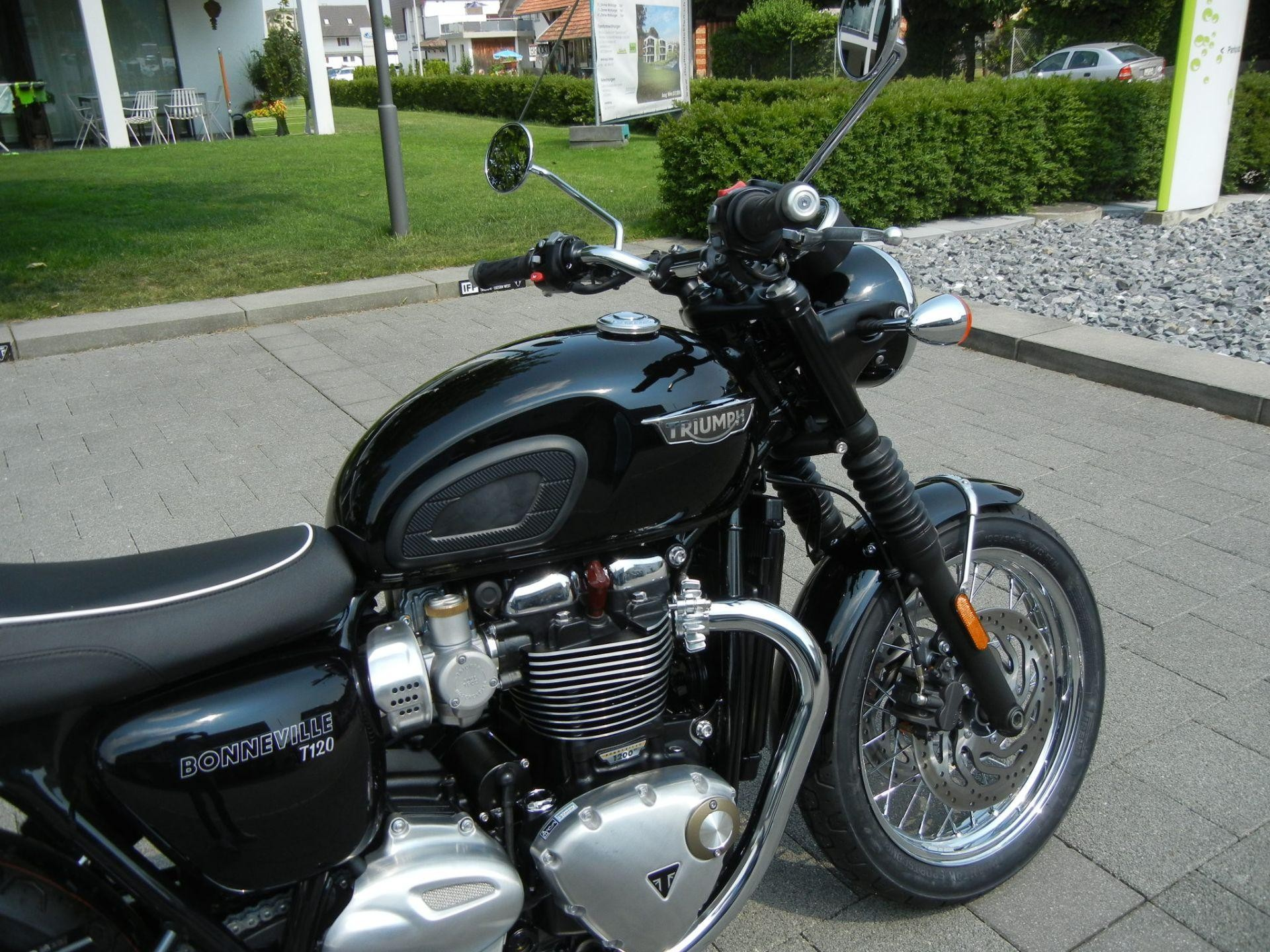 moto neuve acheter triumph bonneville t120 1200 abs iff motorcycles ag gettnau. Black Bedroom Furniture Sets. Home Design Ideas