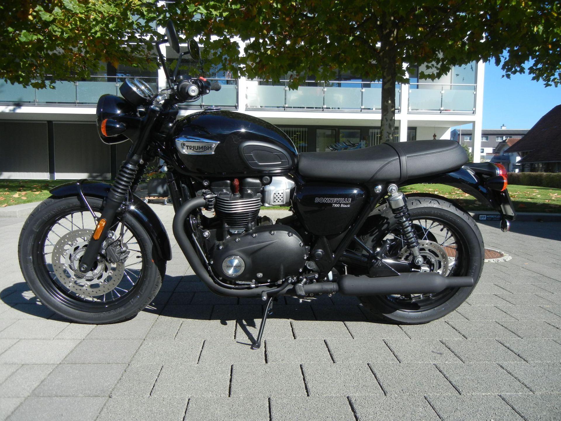 moto neuve acheter triumph bonneville t100 900 abs iff motorcycles ag gettnau. Black Bedroom Furniture Sets. Home Design Ideas
