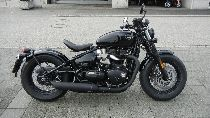 Motorrad Mieten & Roller Mieten TRIUMPH Bonneville 1200 Bobber Black (Retro)