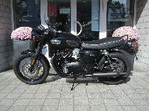 Motorrad kaufen Occasion TRIUMPH Bonneville T100 900 Black ABS (retro)