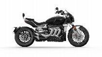 Rent a motorbike TRIUMPH Rocket 3 GT (Custom)
