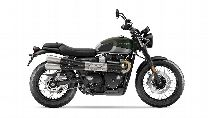 Motorrad Mieten & Roller Mieten TRIUMPH Street Scrambler 900 (Retro)