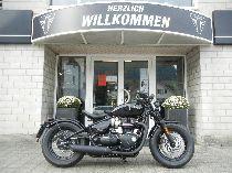 Motorrad kaufen Vorführmodell TRIUMPH Bonneville 1200 Bobber Black (retro)