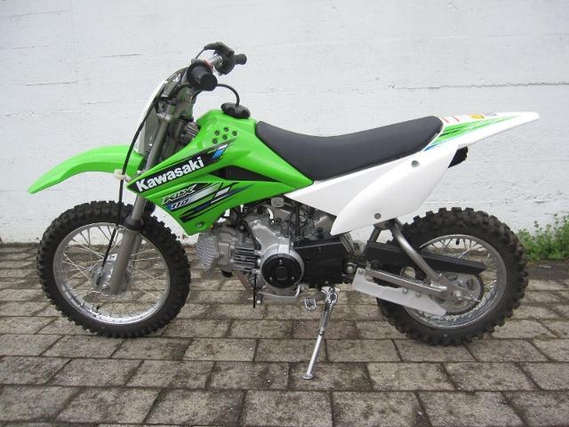 Motorrad kaufen KAWASAKI KLX 110 Occasion