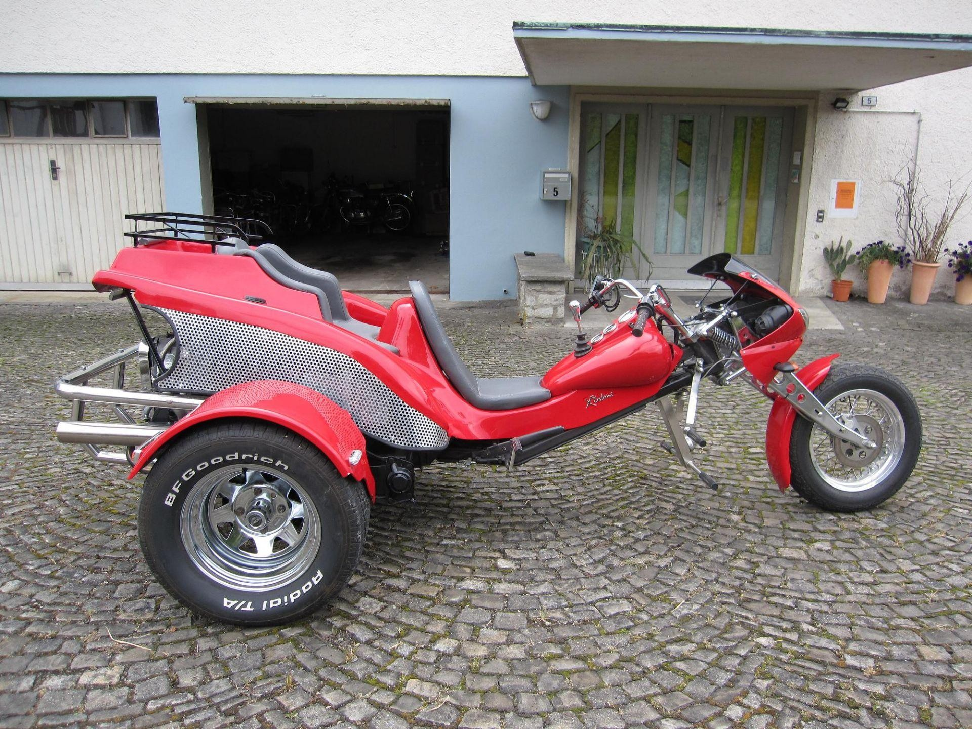 moto occasions acheter kbm streethawk 1600 trike t ff huus moosleerau moosleerau. Black Bedroom Furniture Sets. Home Design Ideas