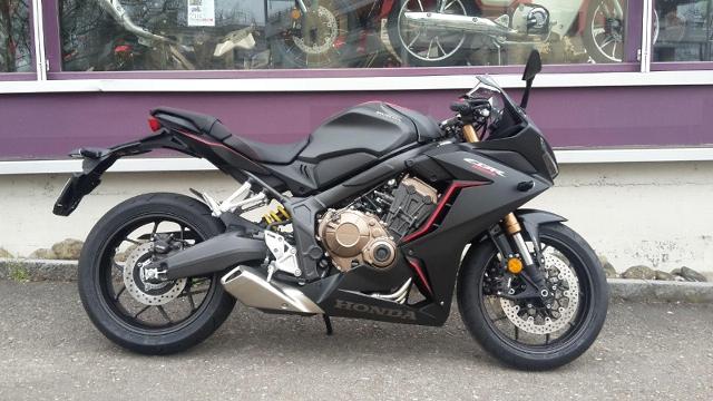Motorrad kaufen HONDA CBR 650 RA 2019 Vorführmodell