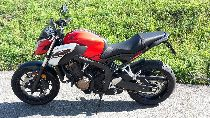 Motorrad kaufen Vorführmodell HONDA CB 650 FA (naked)