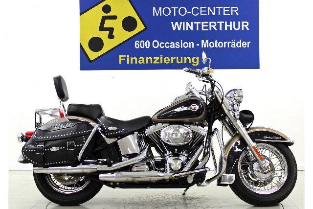 Motorrad kaufen HARLEY-DAVIDSON FLSTCI 1450 Softail Heritage Classic Occasion