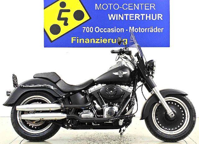Motorrad kaufen HARLEY-DAVIDSON FLSTFB 1584 Softail Fat Boy Special Occasion