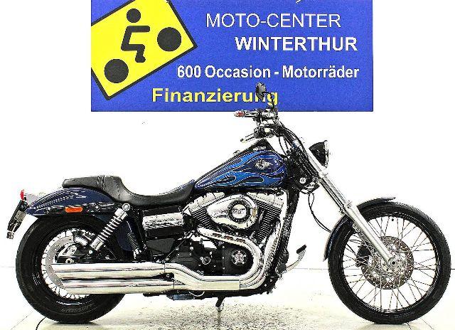 Motorrad kaufen HARLEY-DAVIDSON FXDWG 1585 Dyna Wide Glide ABS Occasion