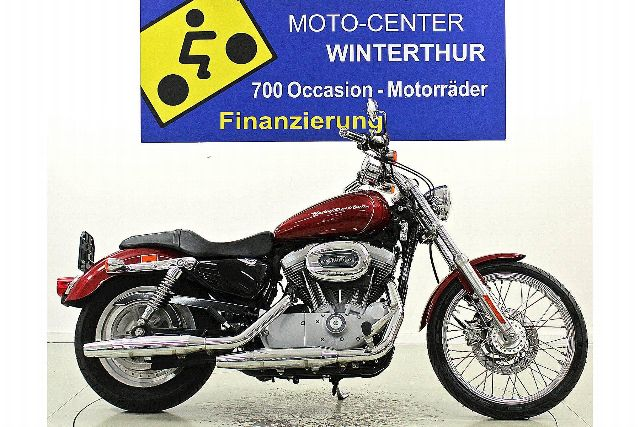 Motorrad kaufen HARLEY-DAVIDSON XL 883 C Sportster Custom Occasion