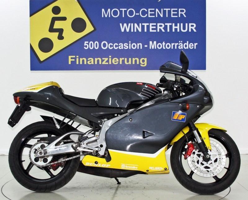 motorrad occasion kaufen aprilia rs 125 moto center. Black Bedroom Furniture Sets. Home Design Ideas