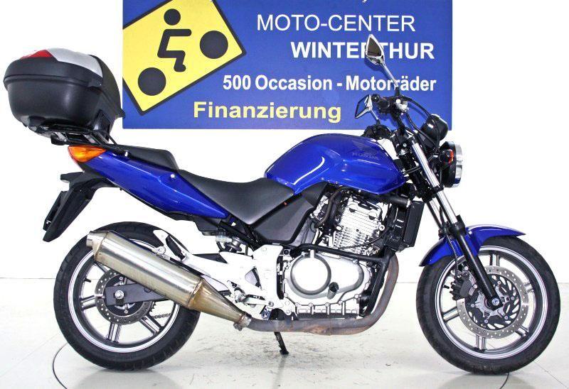 motorrad occasion kaufen honda cbf 500 standard moto center winterthur winterthur. Black Bedroom Furniture Sets. Home Design Ideas