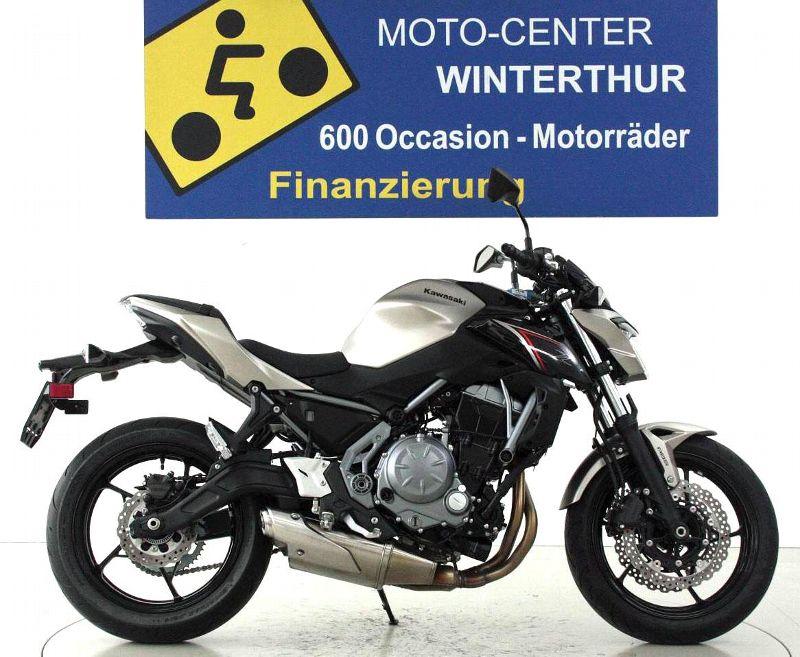 motorrad occasion kaufen kawasaki z650 abs moto center winterthur winterthur. Black Bedroom Furniture Sets. Home Design Ideas