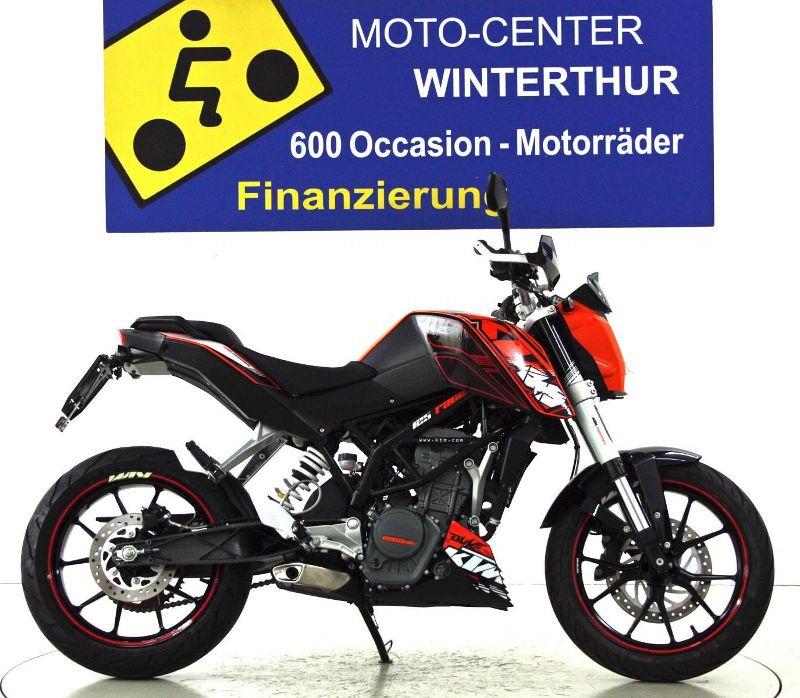 moto occasions acheter motorrad ktm kaufen 125 duke moto center winterthur winterthur. Black Bedroom Furniture Sets. Home Design Ideas
