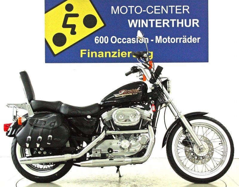 motorrad occasion kaufen harley davidson xlh 883 std sportster moto center winterthur winterthur. Black Bedroom Furniture Sets. Home Design Ideas