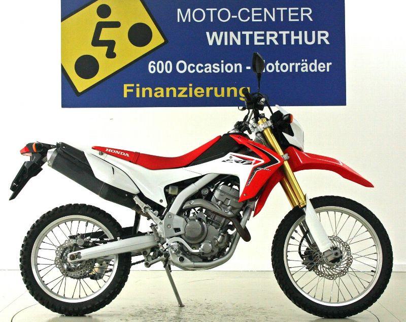 motorrad occasion kaufen honda crf 250 l moto center winterthur winterthur. Black Bedroom Furniture Sets. Home Design Ideas