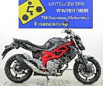 Motorrad kaufen Occasion SUZUKI SFV 650 A ABS Gladius 35kW (naked)