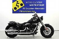 Motorrad kaufen Occasion HARLEY-DAVIDSON FLSTN 1690 Softail-Black Denim (custom)