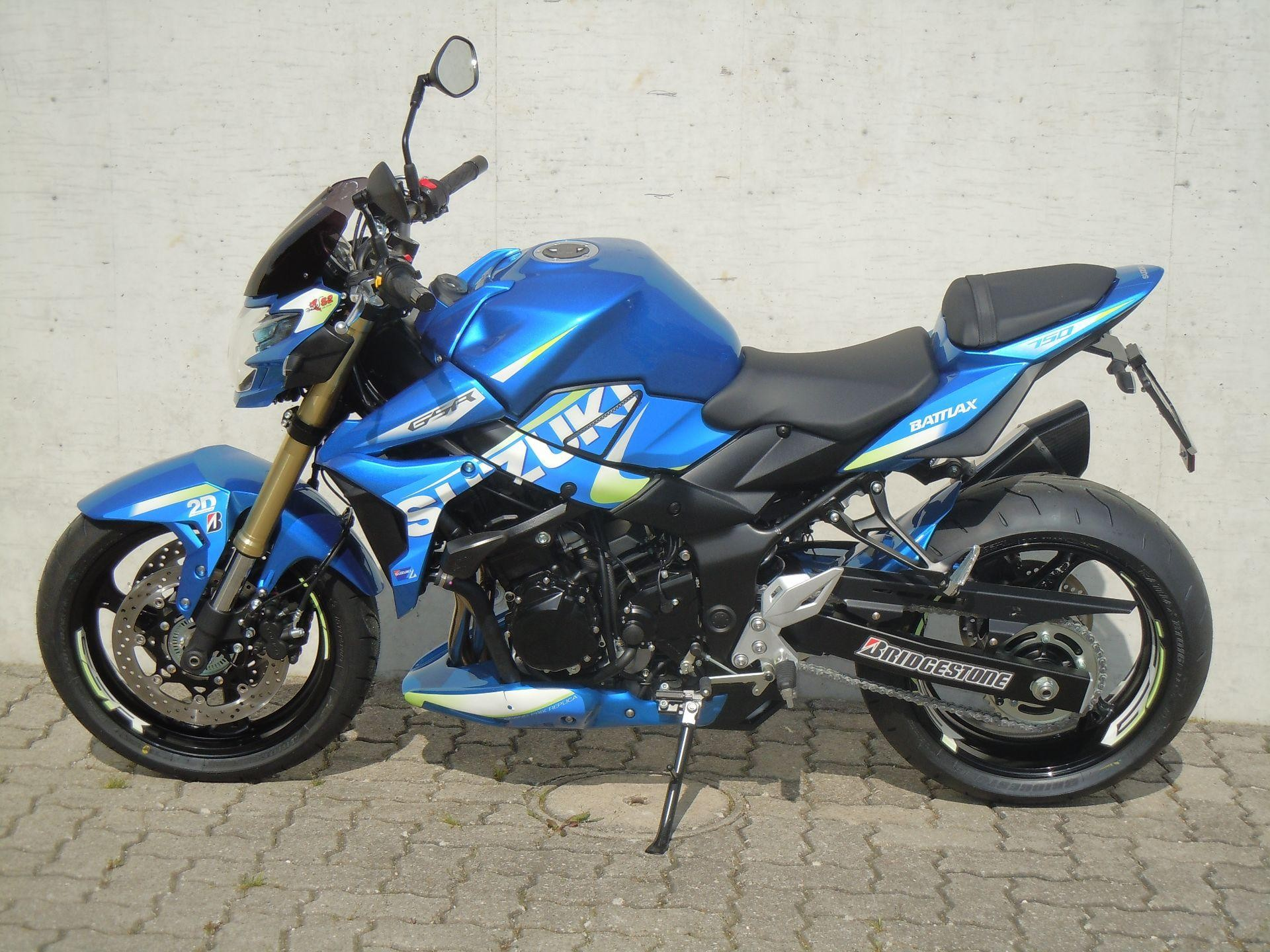 moto neuve acheter suzuki gsr 750 a moto gp edition rolf gall superbikes ag b tzberg. Black Bedroom Furniture Sets. Home Design Ideas