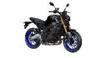 Motorrad Mieten & Roller Mieten YAMAHA MT 09 SP (Naked)
