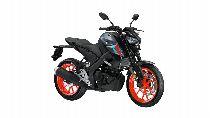 Motorrad Mieten & Roller Mieten YAMAHA MT 125 A (Naked)