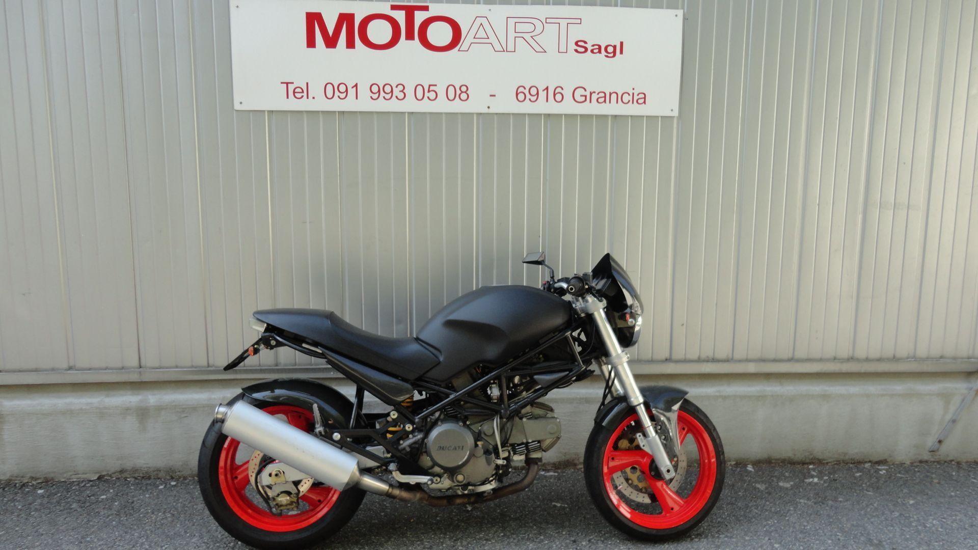 motorrad occasion kaufen ducati 600 monster 46 moto art sagl grancia. Black Bedroom Furniture Sets. Home Design Ideas