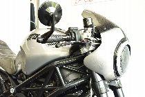Töff kaufen DUCATI 1100 Monster cafè racer Naked