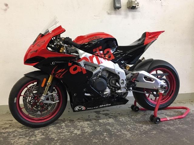 Motorrad kaufen APRILIA RSV 4 RR ABS RF Rennmotorrad Occasion