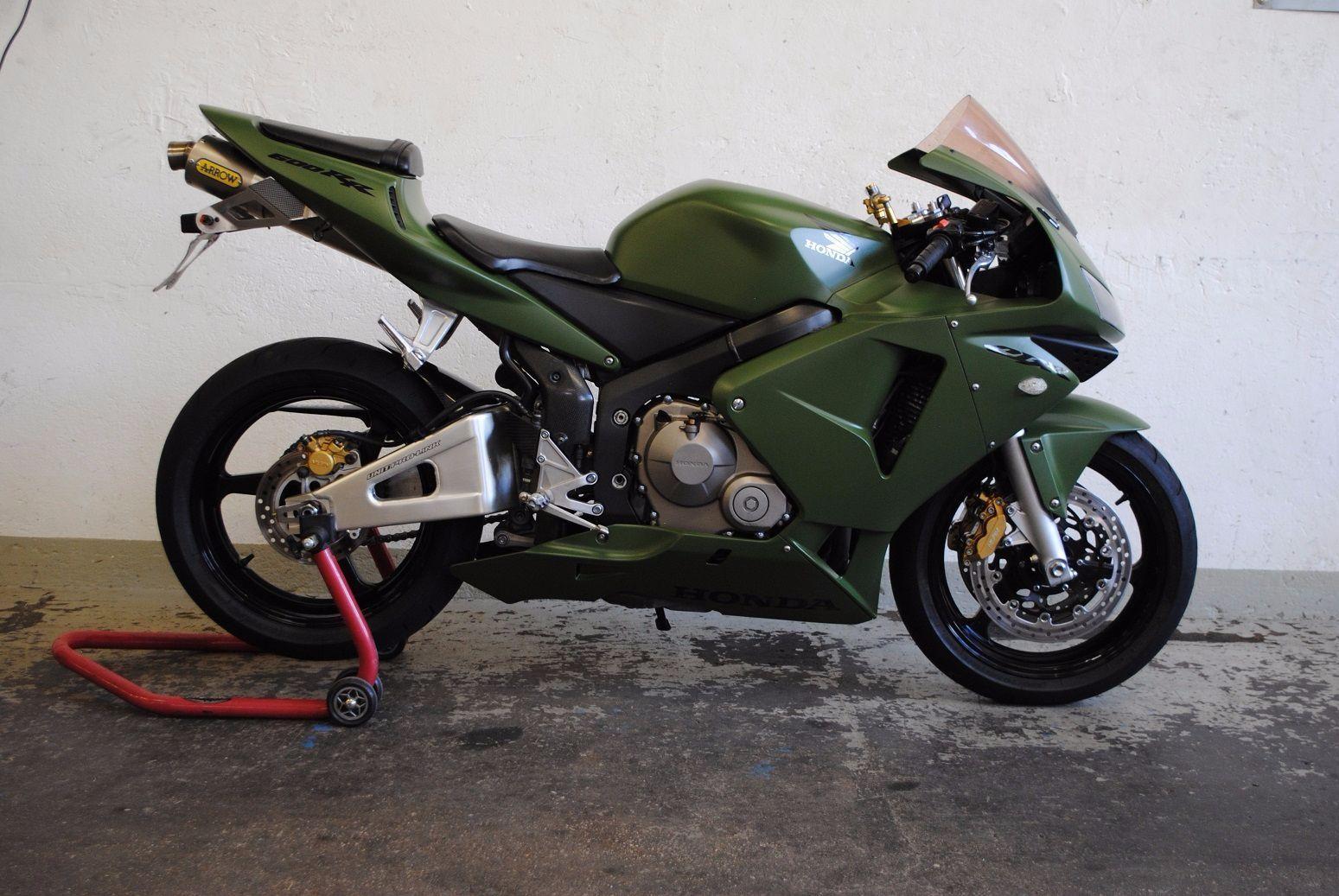 Honda cbr 600 rr spezial design moto meile gmbh triumph for Design occasioni