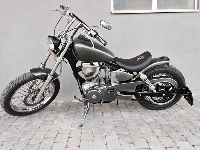 Motorrad kaufen SUZUKI LS 650 P Savage B2R Bobber Occasion