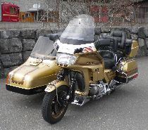 Motorrad kaufen Occasion HONDA GL 1200 A Gold Wing (gespann)
