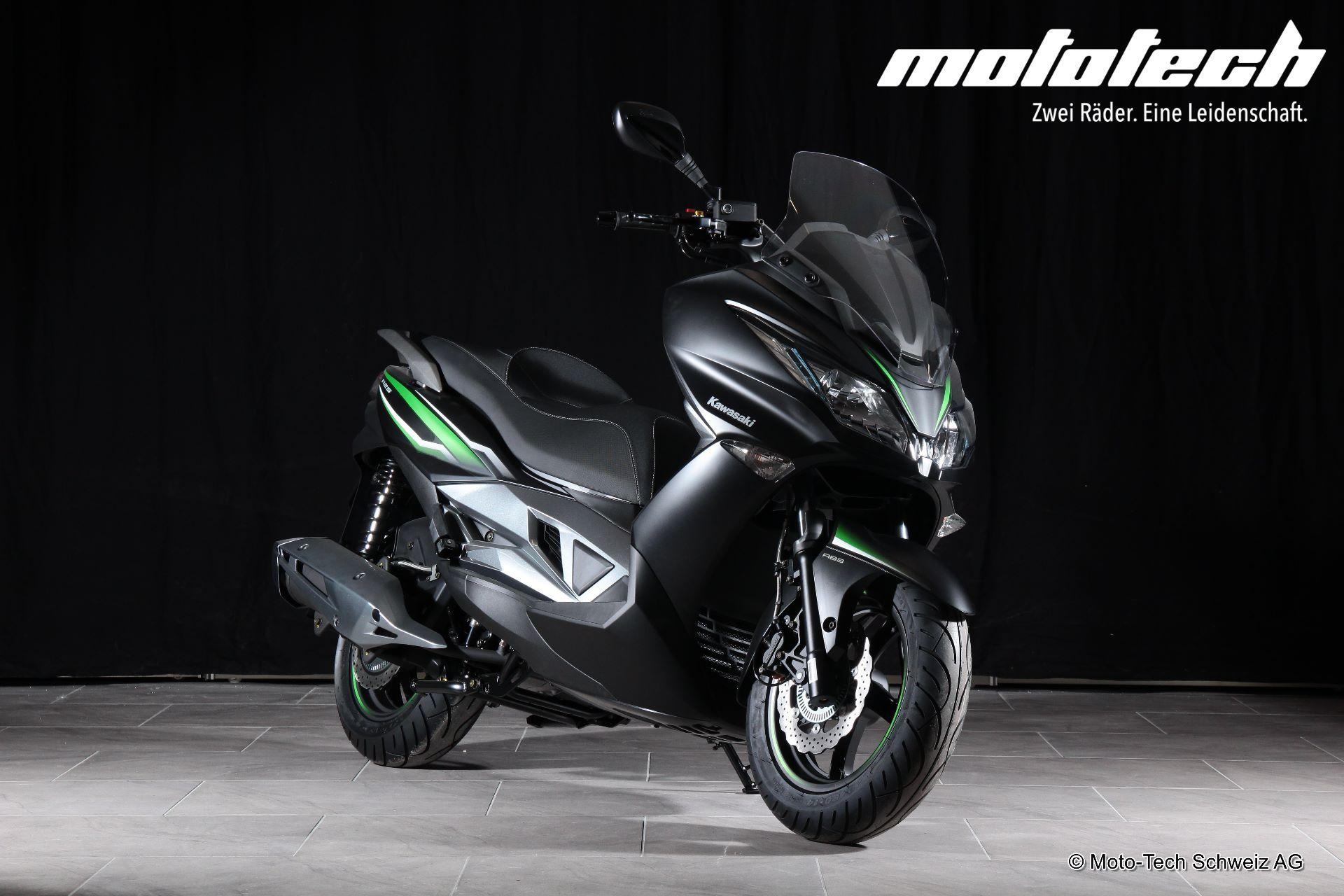 motorrad neufahrzeug kaufen kawasaki j 125 abs moto tech. Black Bedroom Furniture Sets. Home Design Ideas