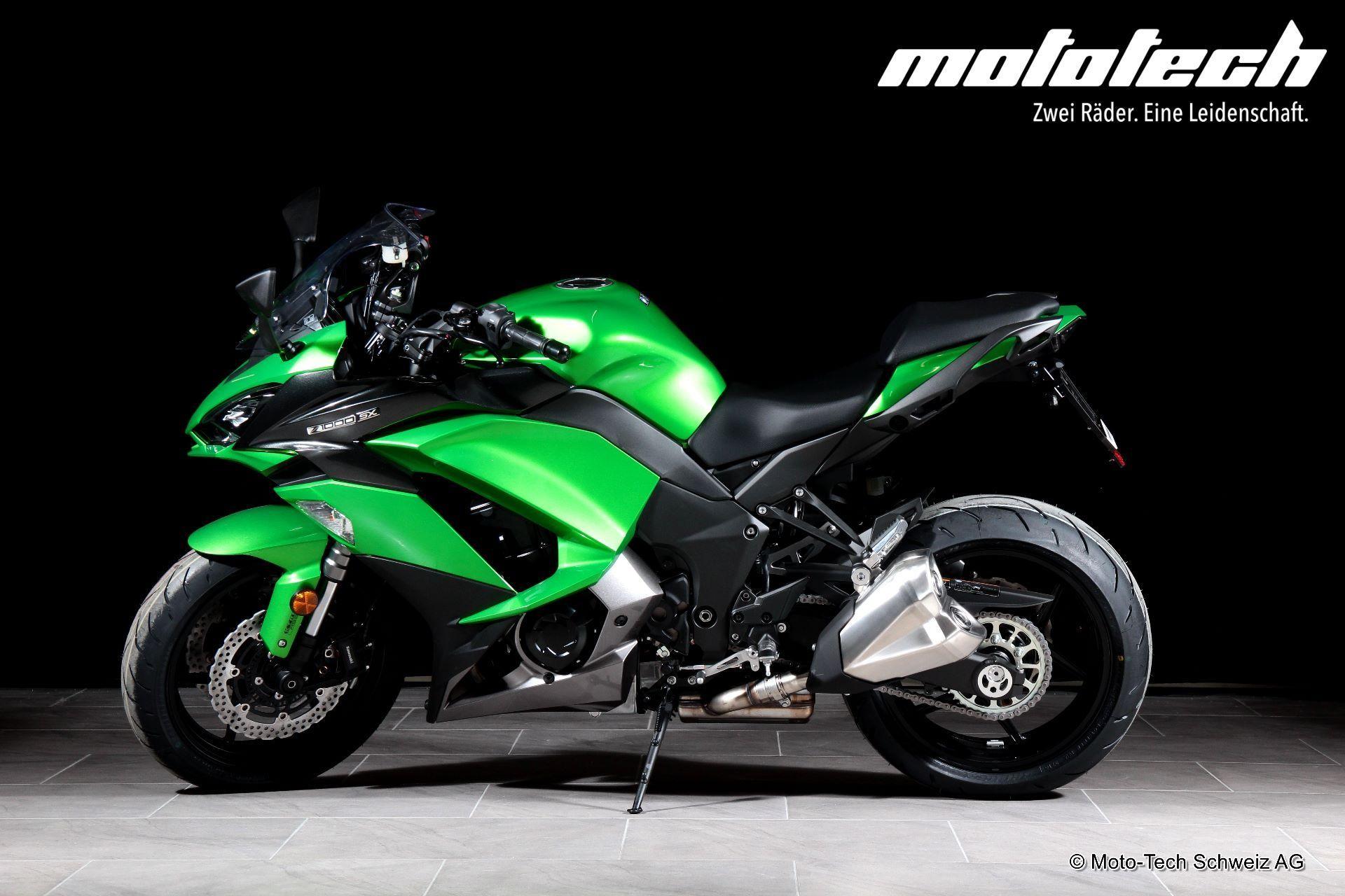 moto veicoli nuovi acquistare kawasaki z 1000 sx abs moto tech schweiz ag oberentfelden. Black Bedroom Furniture Sets. Home Design Ideas