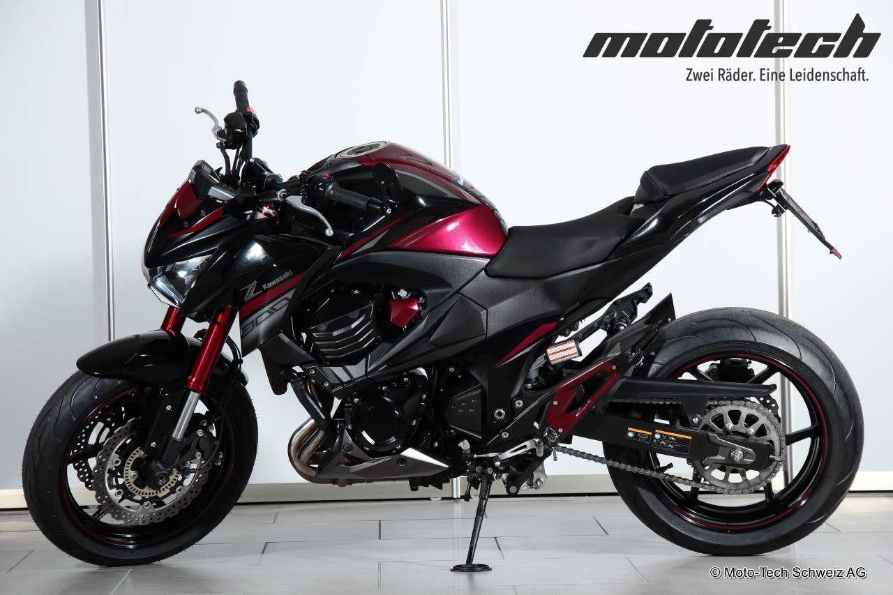 motorrad occasion kaufen kawasaki z 800 moto tech schweiz ag oberentfelden. Black Bedroom Furniture Sets. Home Design Ideas