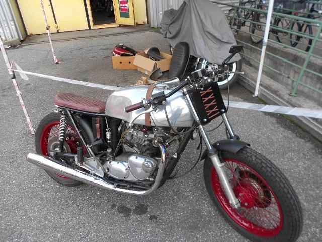 Motorrad kaufen TRIUMPH T 140  Cafe Racer Oldtimer