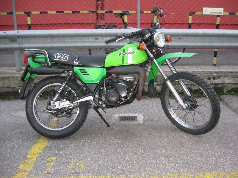 motorrad oldtimer kaufen kawasaki k 125 trial motosecours acacias. Black Bedroom Furniture Sets. Home Design Ideas
