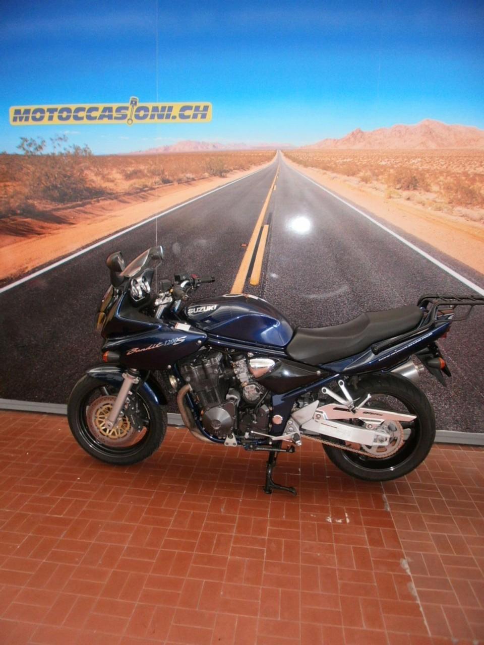 motorrad occasion kaufen suzuki gsf 1200 s bandit motoccasioni sa grancia. Black Bedroom Furniture Sets. Home Design Ideas