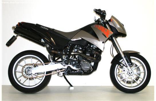 Acheter une moto KTM 640 Duke E II Günstig!25KW!!!! Occasions