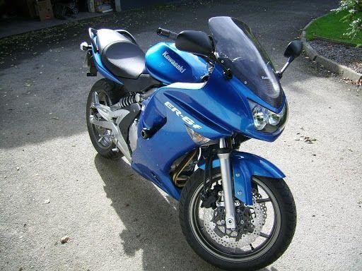 Motorrad kaufen KAWASAKI ER-6f ABS Sporttourer Occasion