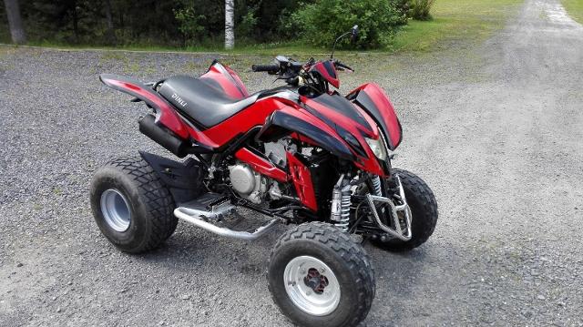 Motorrad kaufen DINLI DL 904-450 Sportquad ATV Occasion