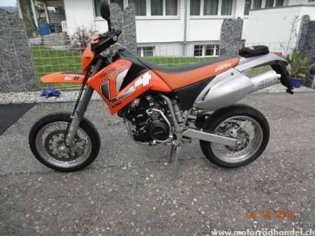 Acheter une moto KTM 620 EGS LC4 Enduro Supercomp Occasions
