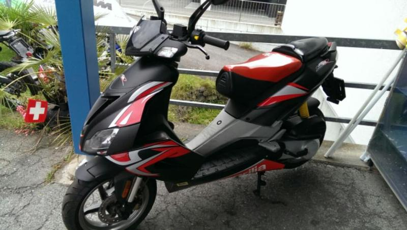 motorrad occasion kaufen aprilia sr 50 r factory top scooter very nice mcs motorbikes. Black Bedroom Furniture Sets. Home Design Ideas