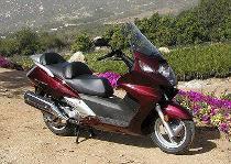 Töff kaufen HONDA FJS 600 Silver Wing Bordeaux-rot Roller