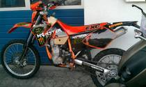 Töff kaufen KTM 450 EXC Racing Enduro 400er!!!-25 KW Kategorie,full power!!! Enduro